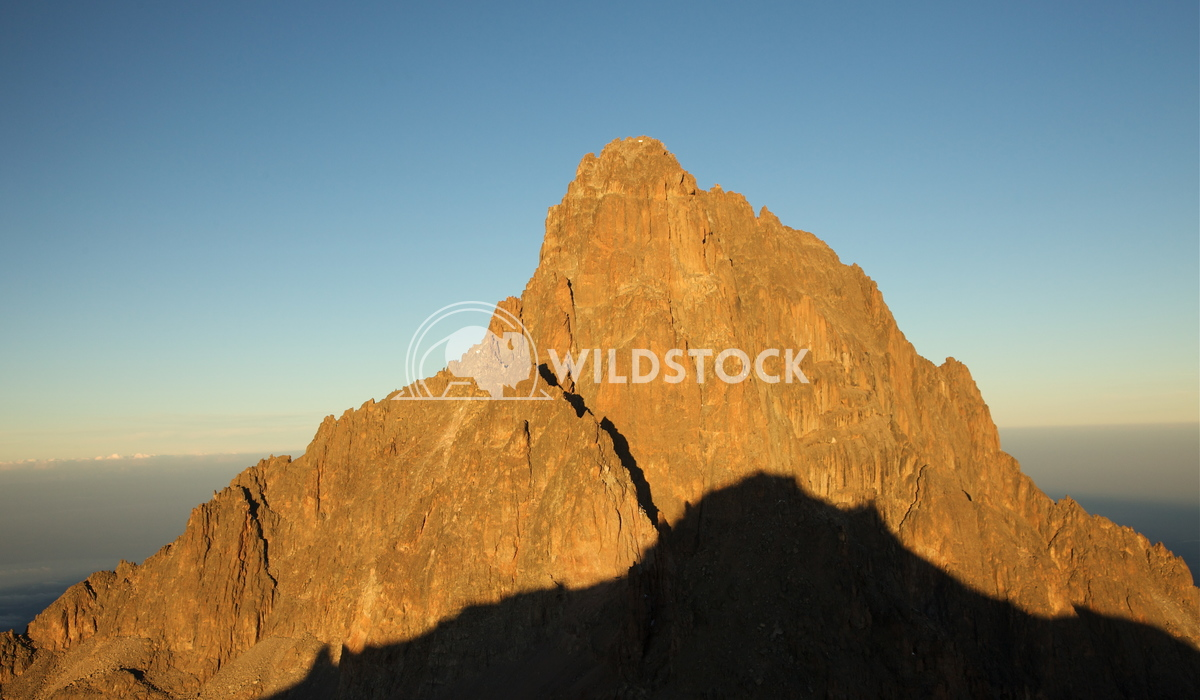 Shadow Rising On Mt. Kenya Henry McCluster