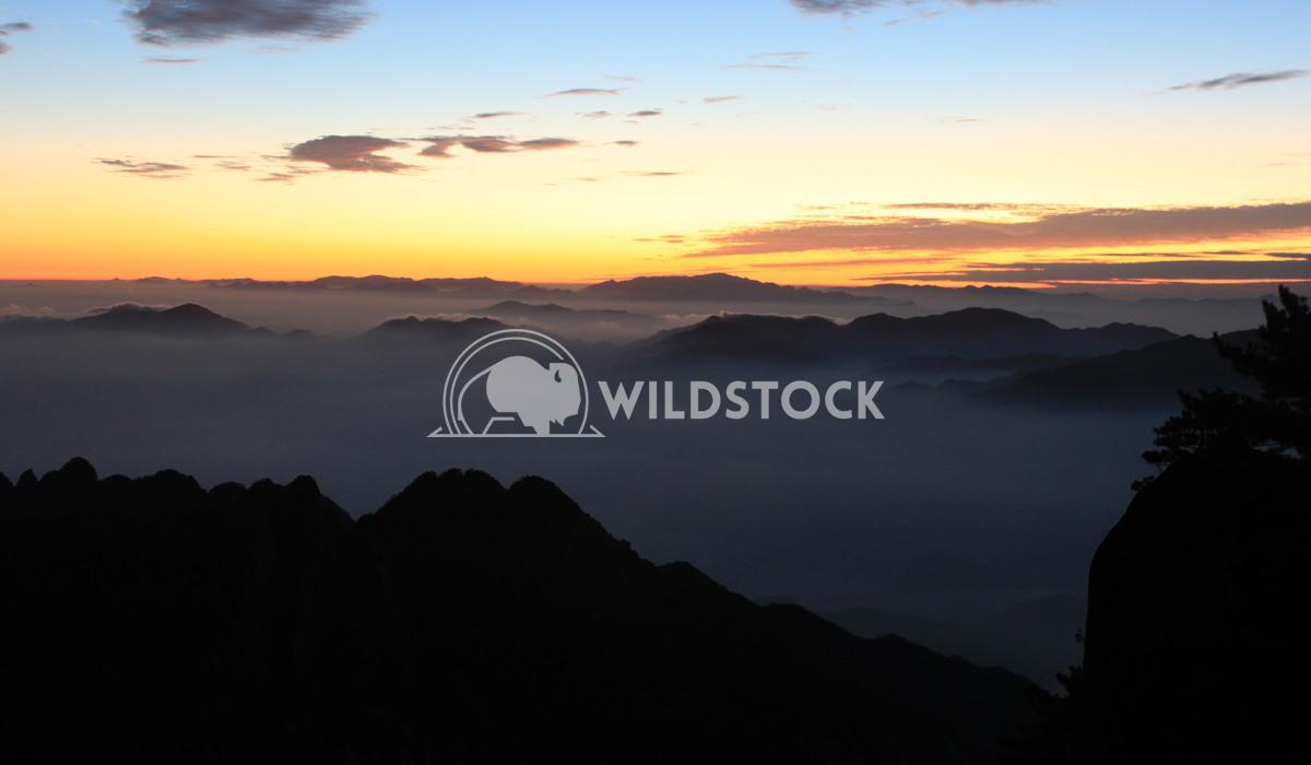 Sunrise on Yellow Mountain Damon Yeh