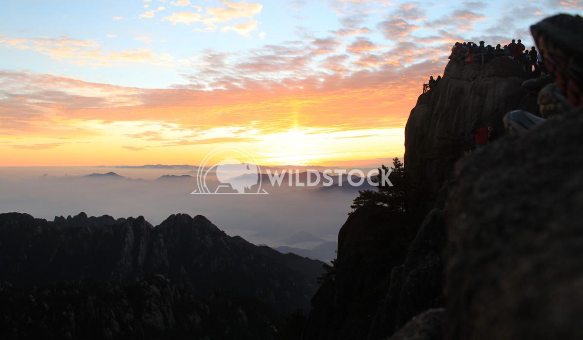 Yellow Mountain Sunrise 2 Damon Yeh