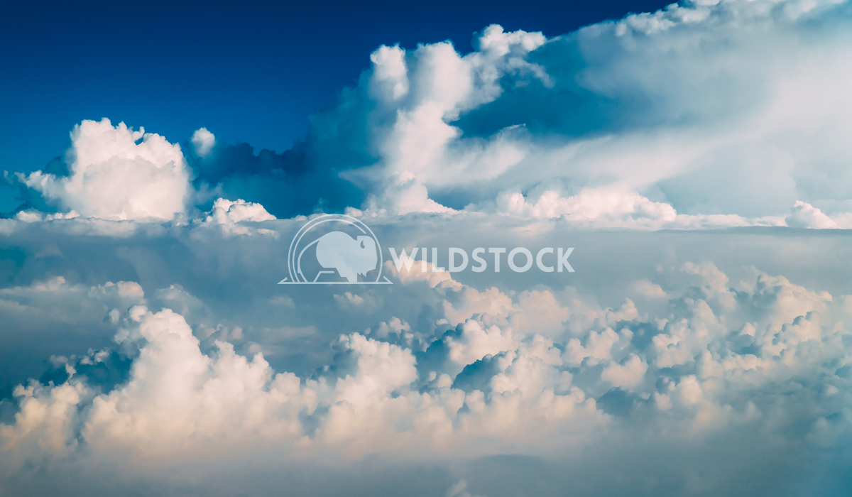 Beautiful Earth Clouds And Blue Horizon Radu Bercan Beautiful Landscape Of Earth Clouds And Blue Horizon