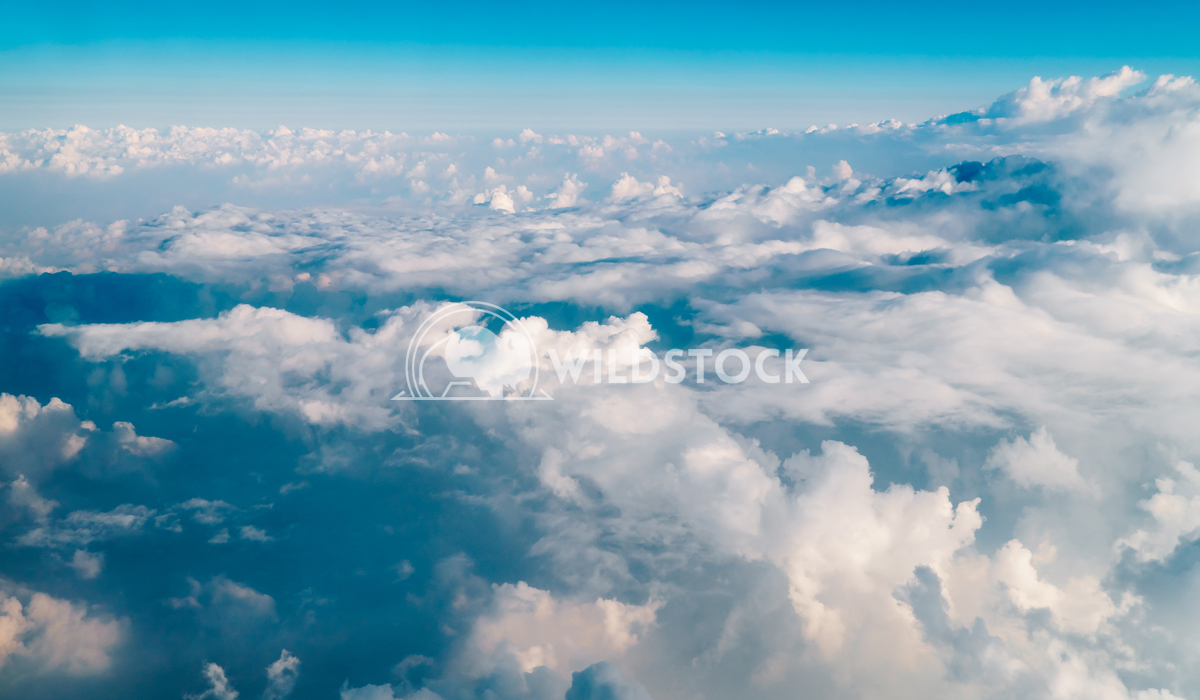 Beautiful Earth Clouds And Horizon Radu Bercan Beautiful Landscape Of Earth Clouds And Blue Horizon