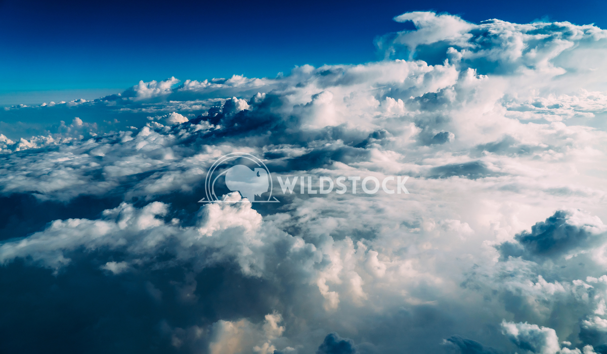 Aerial Earth Clouds And Blue Horizon Radu Bercan Beautiful Landscape Of Earth Clouds And Blue Horizon