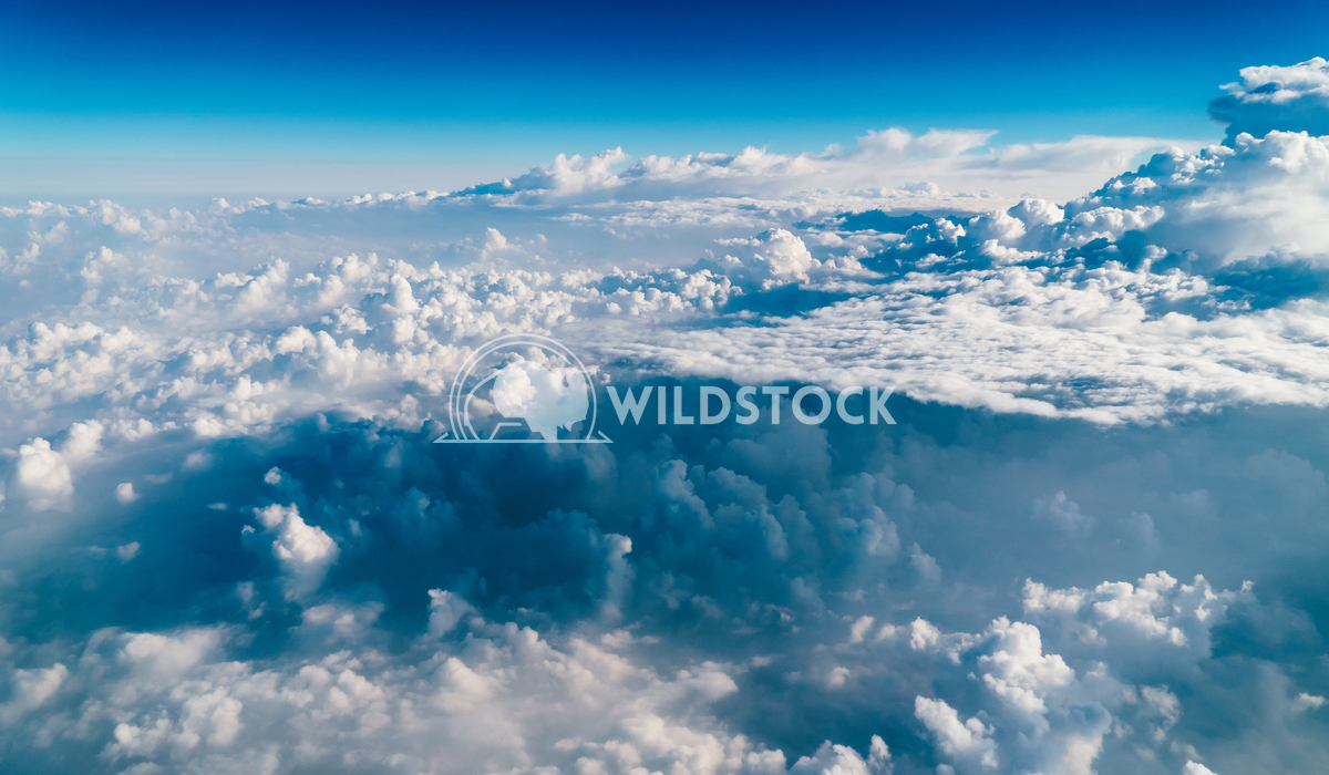 Aerial Landscape Of Earth Clouds And Blue Horizon Radu Bercan Beautiful Landscape Of Earth Clouds And Blue Horizon