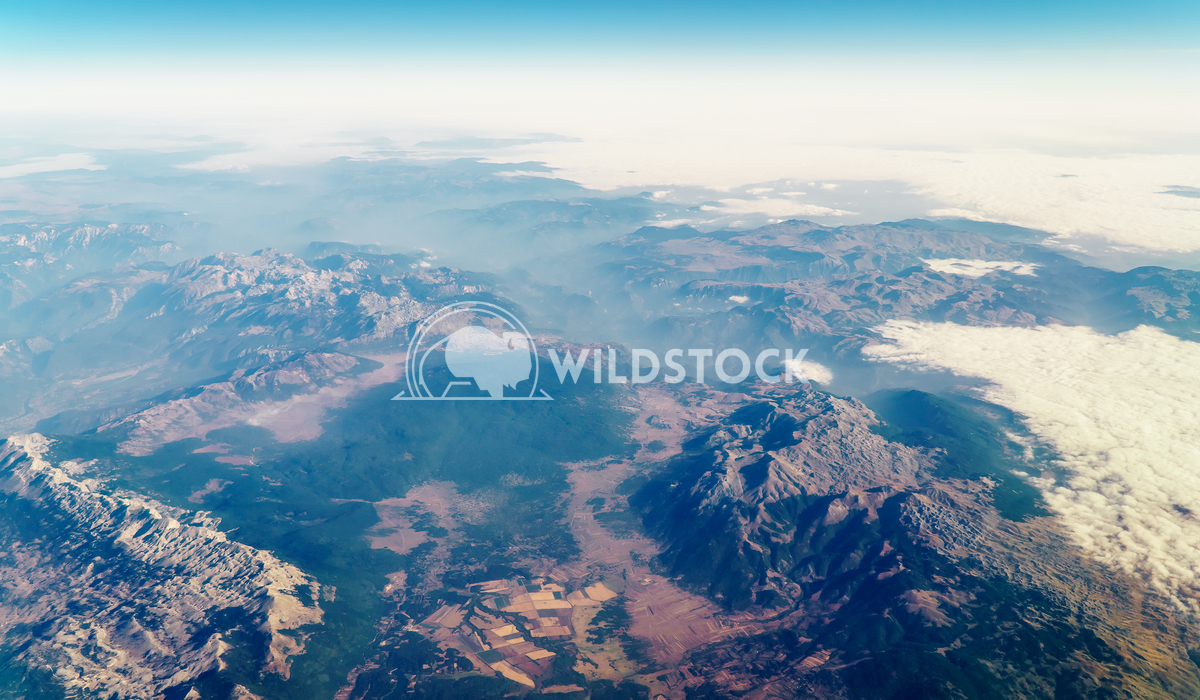 View Of Planet Earth Horizon Radu Bercan Airplane View Of Planet Earth Horizon