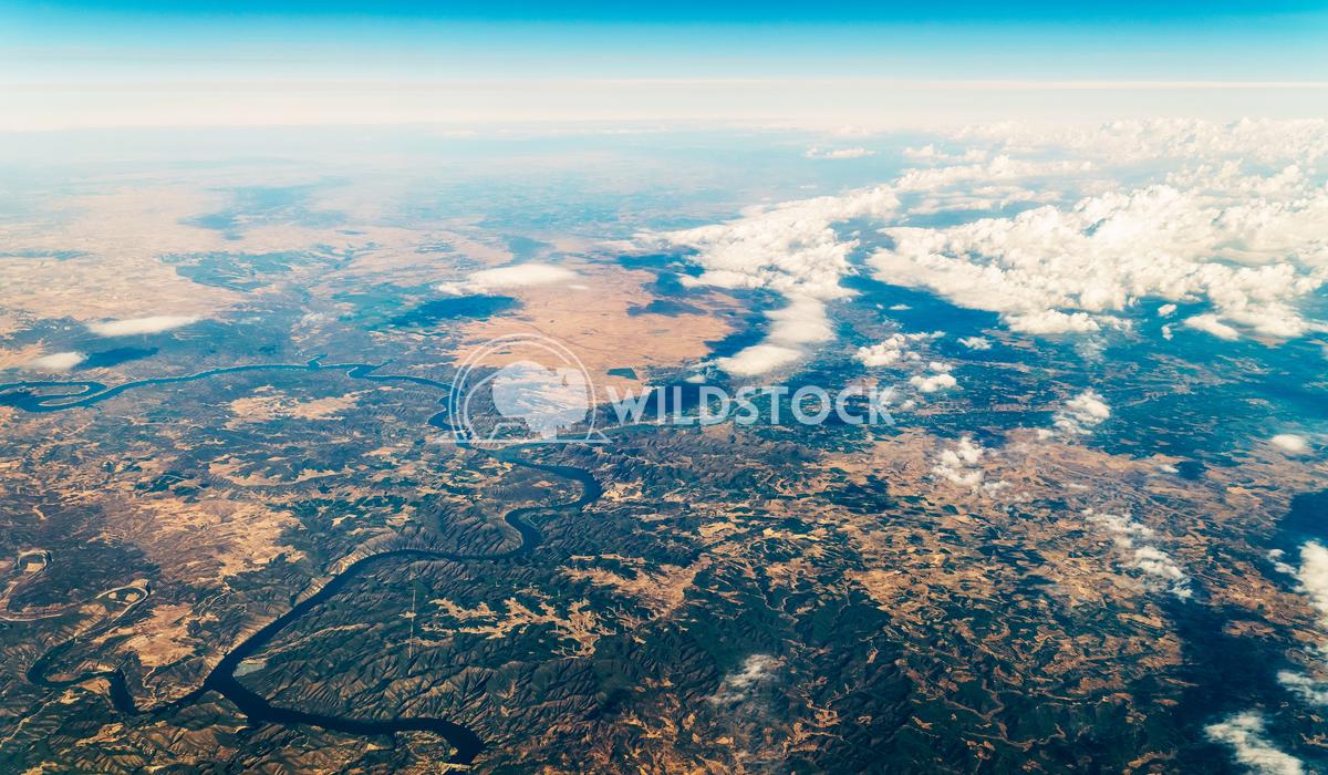 Satellite View Of Planet Earth Horizon Radu Bercan Satellite View Of Planet Earth Horizon