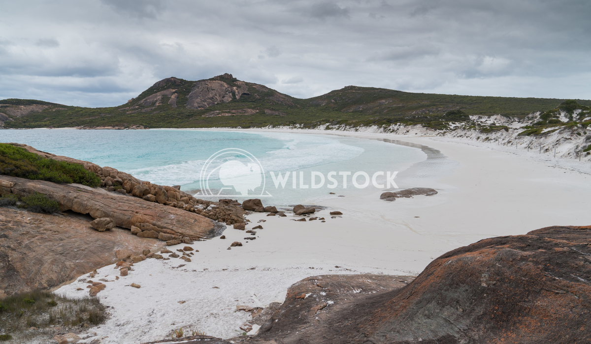 Thistle Cove, Cape Le Grand National Park, Western Australia 1 Alexander Ludwig White beach of Thistle Cove on an overca