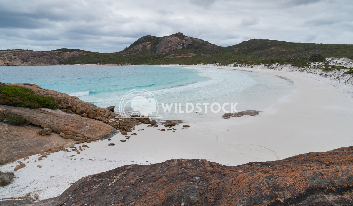 Thistle Cove, Cape Le Grand National Park, Western Australia 2 Alexander Ludwig White beach of Thistle Cove on an overca