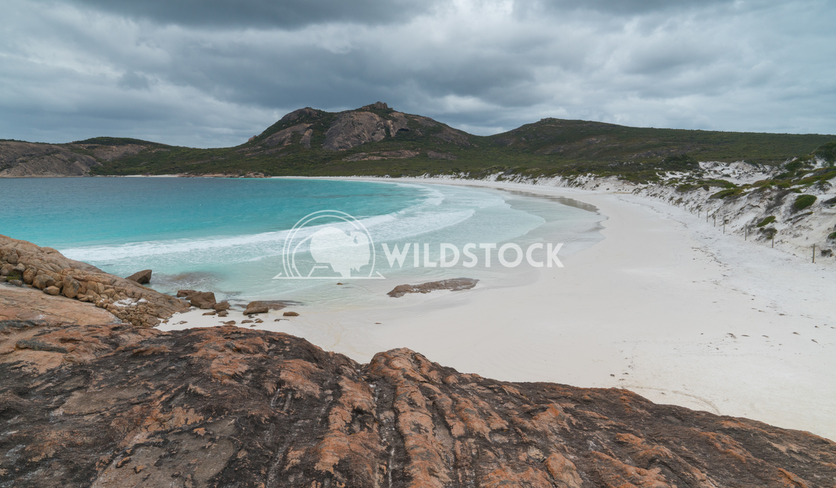 Thistle Cove, Cape Le Grand National Park, Western Australia 3 Alexander Ludwig White beach of Thistle Cove on an overca