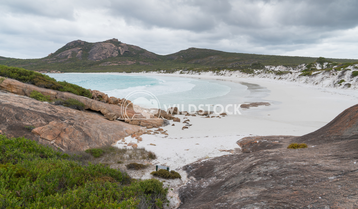 Thistle Cove, Cape Le Grand National Park, Western Australia 6 Alexander Ludwig White beach of Thistle Cove on an overca