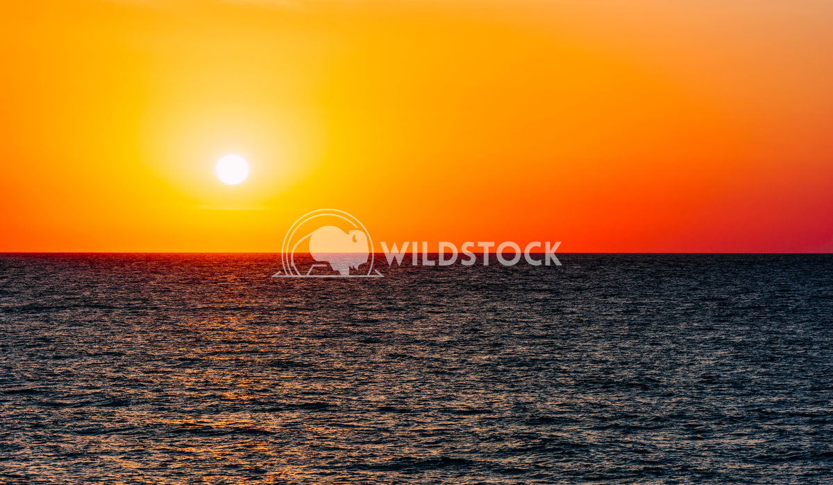 Morning Beautiful Sunrise Sky Over The Ocean Radu Bercan Morning Sunrise Sky Over The Ocean