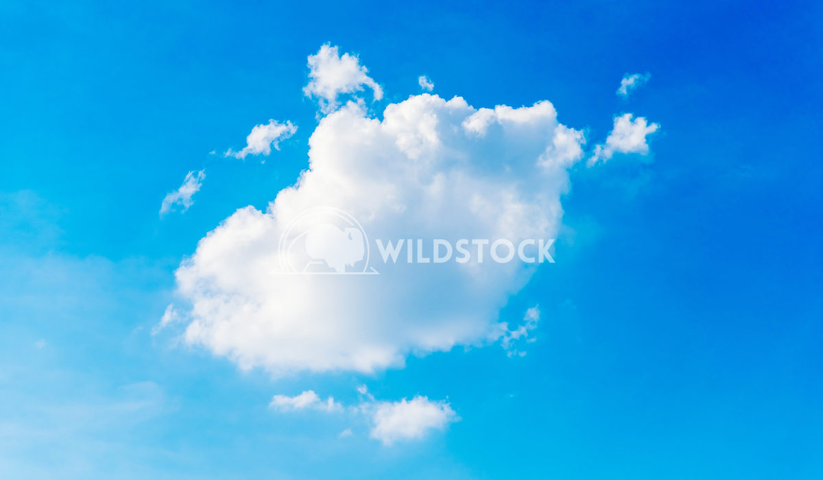 White Cloud On Blue Sky Radu Bercan White Cloud On Blue Sky