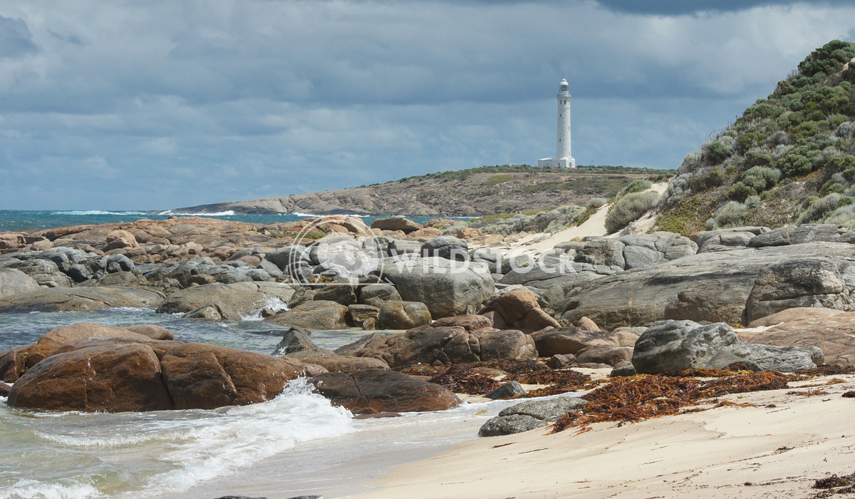 Lighthouse, Cape Leeuwin, Western Australia 3 Alexander Ludwig Lighthouse on Cape Leeuwin with panoranic view over the c