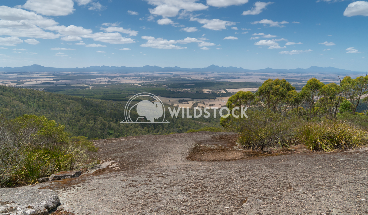 Porongurup National Park, Western Australia 6 Alexander Ludwig Panoramic view from the Castle Rock over the landscape of