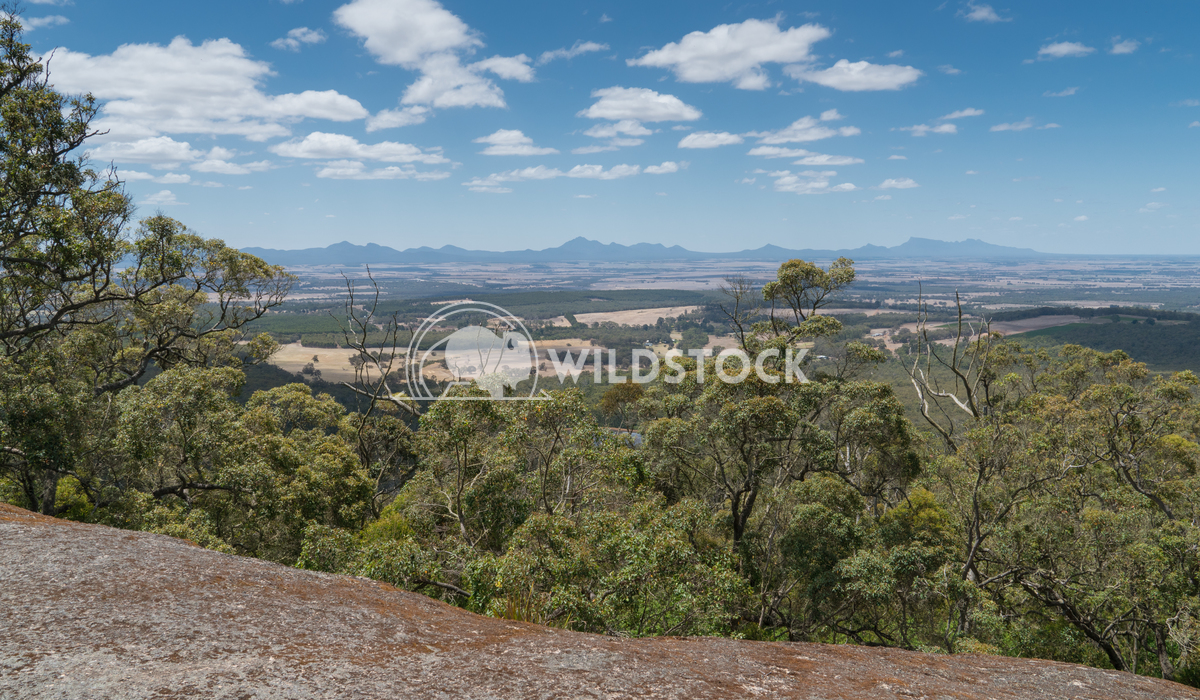 Porongurup National Park, Western Australia 5 Alexander Ludwig Panoramic view from the Castle Rock over the landscape of