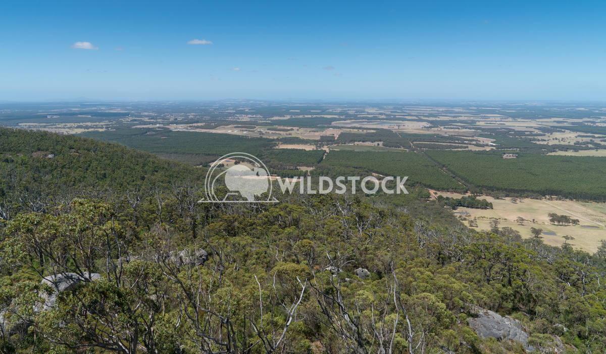 Porongurup National Park, Western Australia 3 Alexander Ludwig Panoramic view from the Castle Rock over the landscape of