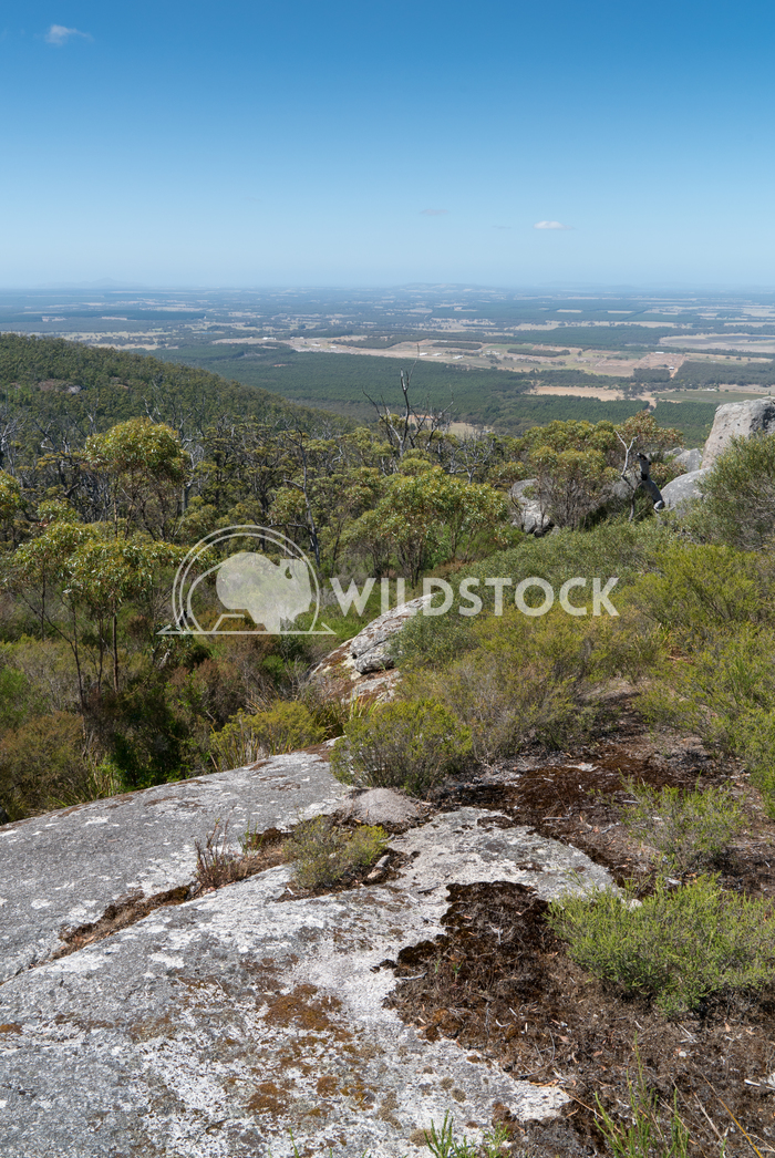 Porongurup National Park, Western Australia 2 Alexander Ludwig Panoramic view from the Castle Rock over the landscape of