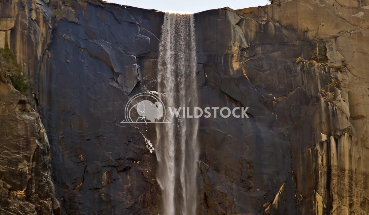Bridalvale Detail Larry Darnell Yosemite National Park, Bridalvale Falls detail.