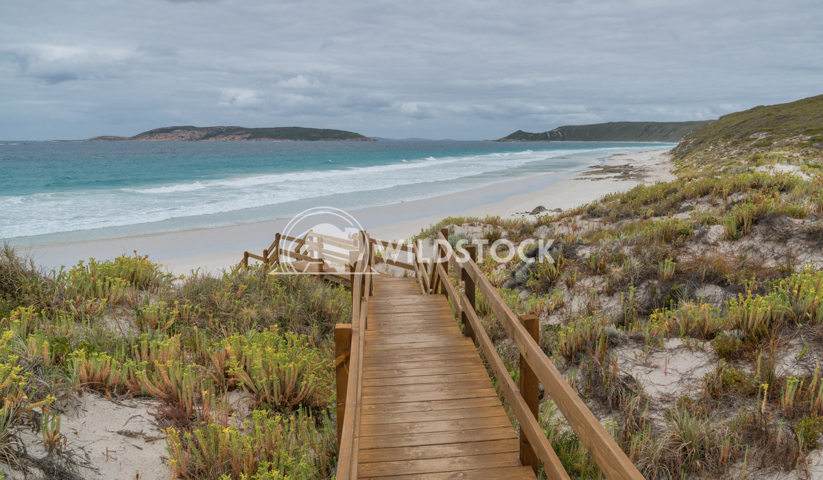 Picnic Beach close to Esperance, Western Australia Alexander Ludwig Picnic Beach close to Esperance on an overcast day,
