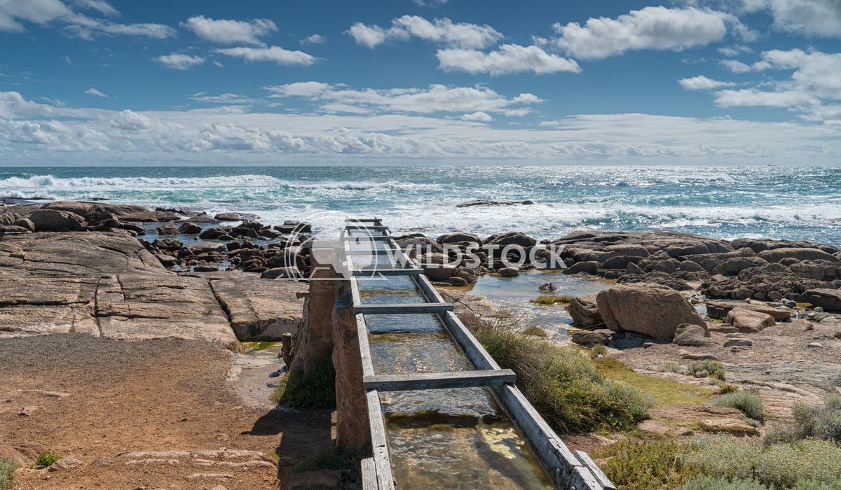 Old watermill, Cape Leeuwin, Western Australia 1 Alexander Ludwig Old watermill on the coast of Cape Leeuwin, Western Au