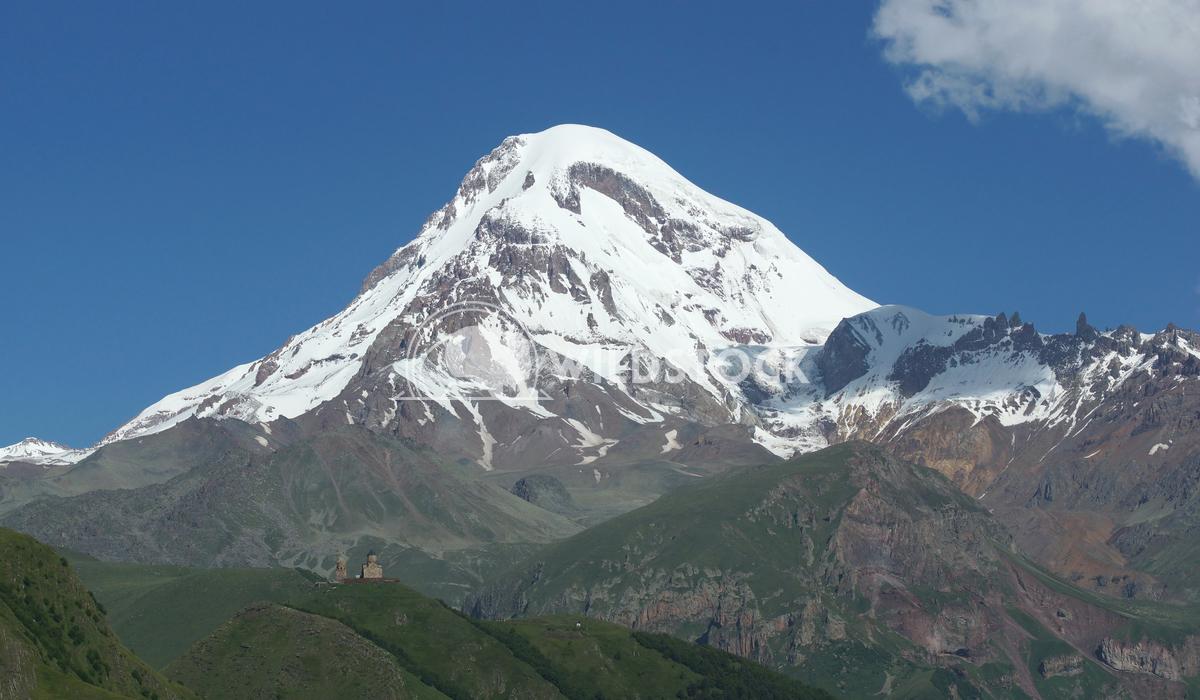 Mount Kazbek, Georgia, Europe 1 Alexander Ludwig Mount Kazbek, Stepantsminda, Georgia, Europe