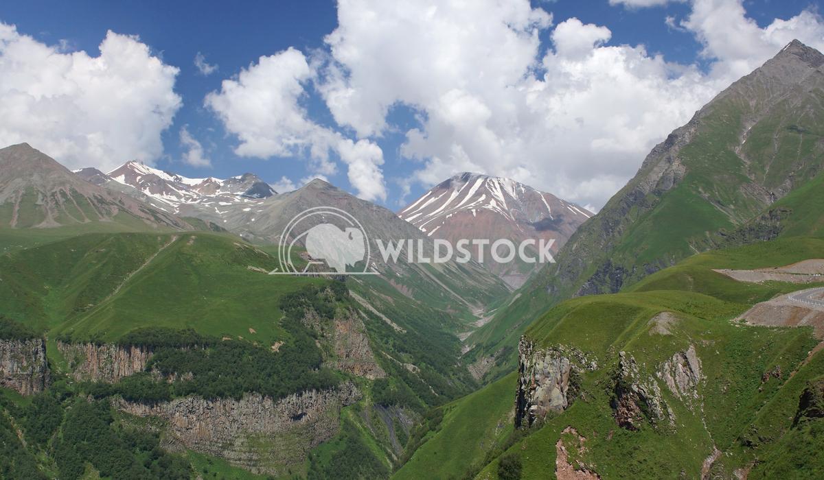 Cross pass, Caucasus Mountains, Georgia 1 Alexander Ludwig Landscape on the Cross pass, Caucasus Mountains, Georgia