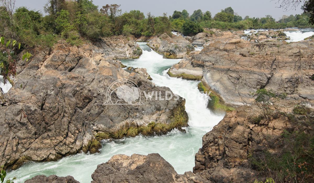 Don Khone Island, Laos, Asia 5 Alexander Ludwig Li Phi Waterfalls, Don Khone Island, Laos Asia