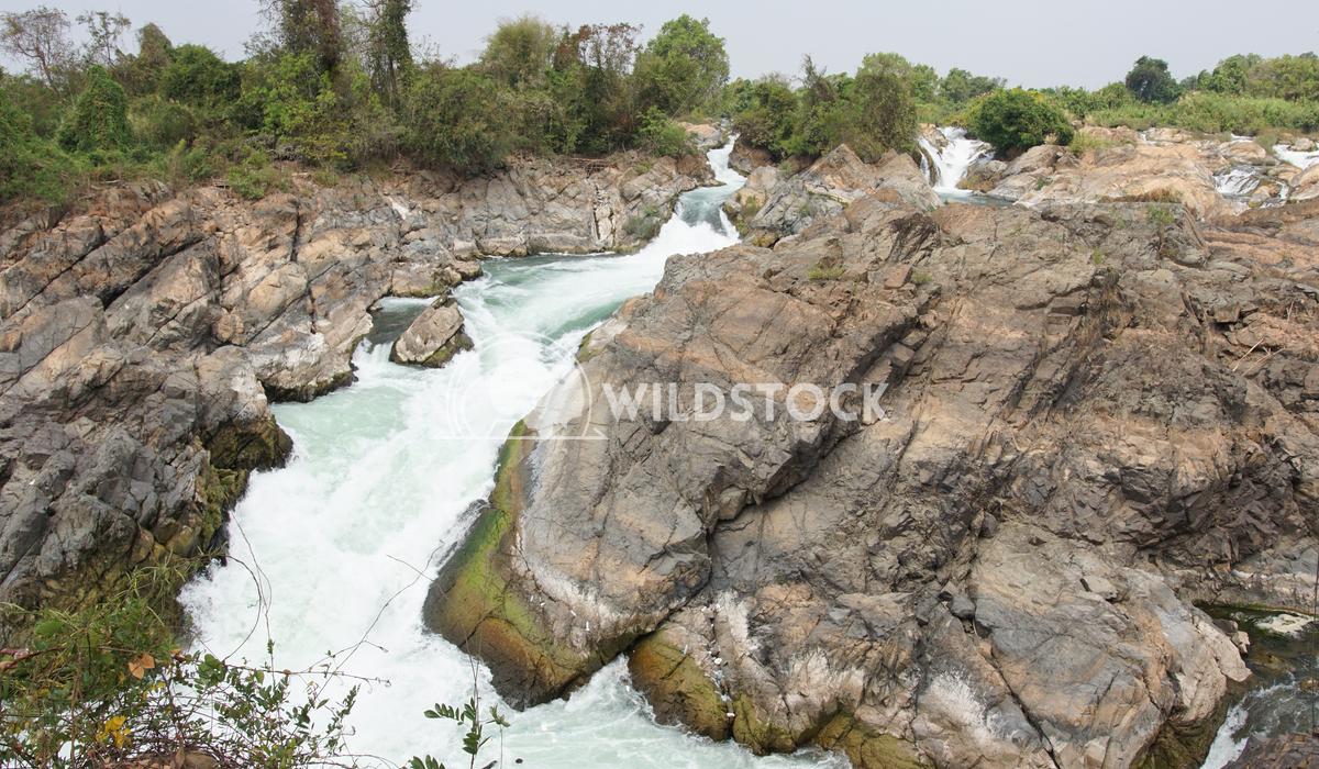 Don Khone Island, Laos, Asia 2 Alexander Ludwig Li Phi Waterfalls, Don Khone Island, Laos Asia