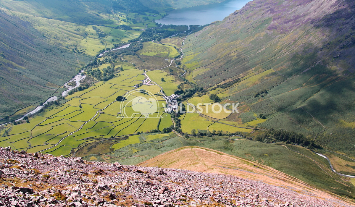 Wasdale Head. Lake District. Mike Shield