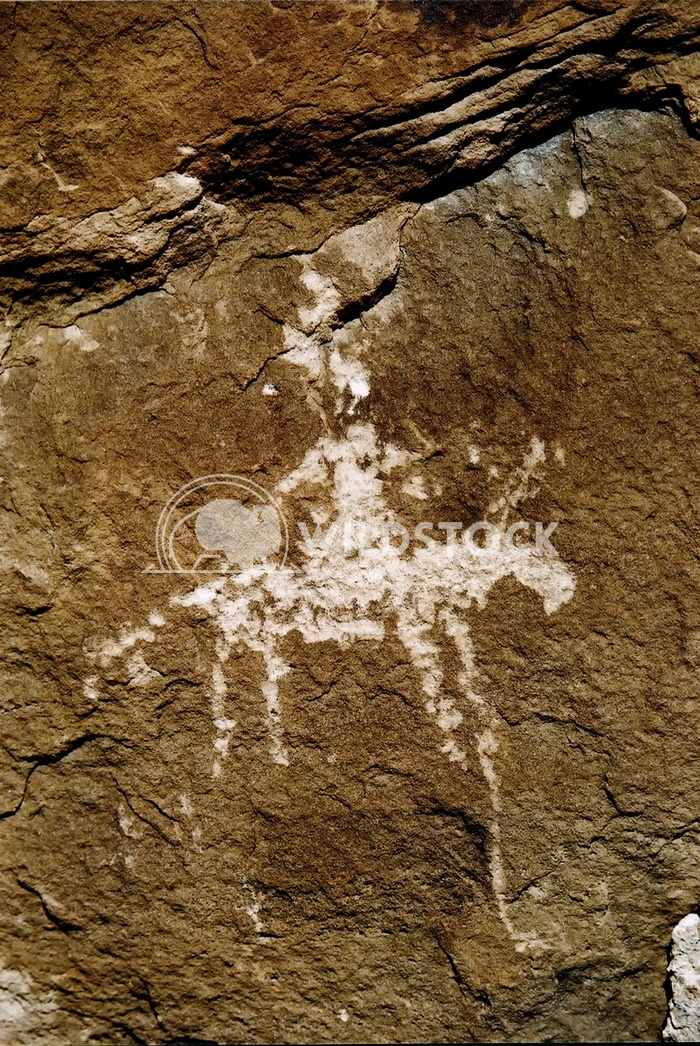 horse and rider petroglyph John Anglim