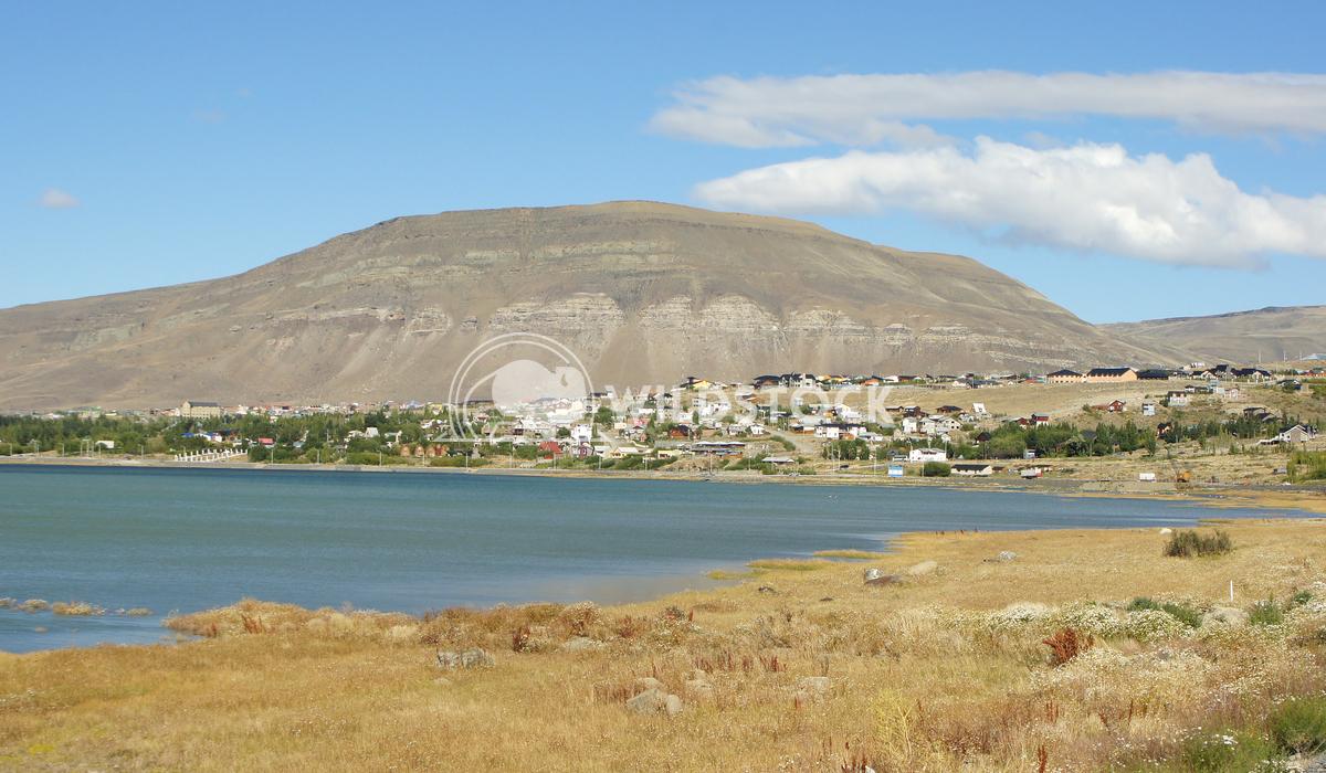 El Calafate, Patagonia, Argentina 2 Alexander Ludwig Panorama of the city of El Calafate, Patagonia, Argentina