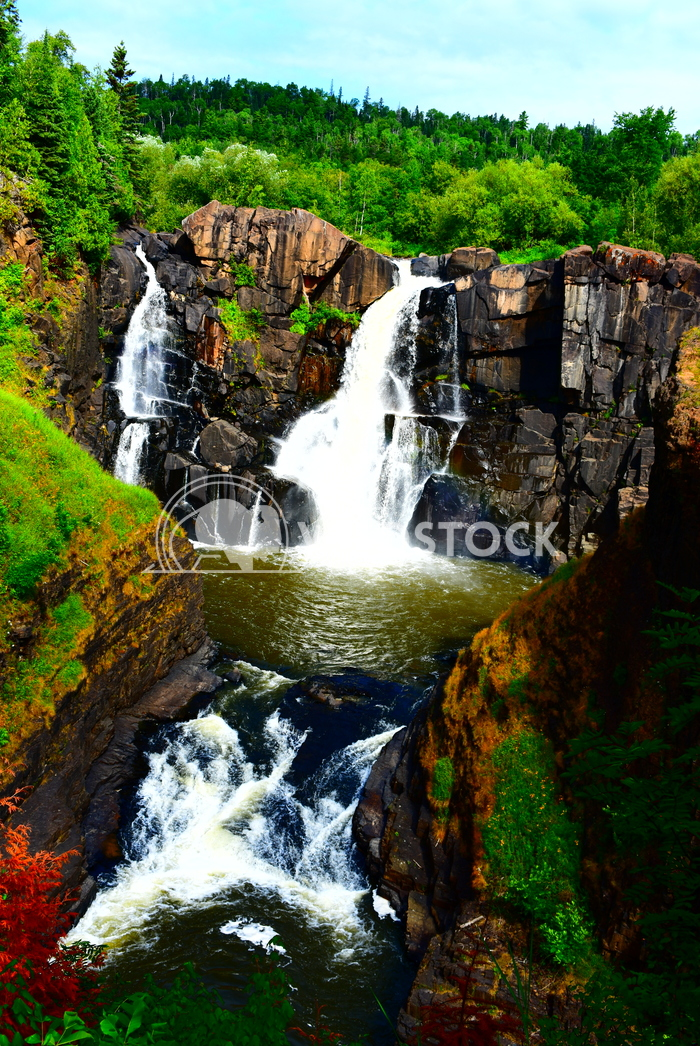 Pigeon River High Falls, Grand Portage, MN. Gordon Lindgren