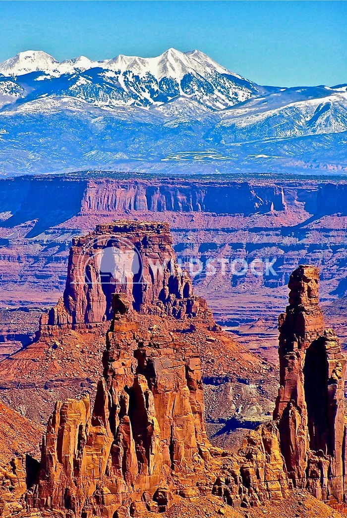 arches and la sal mtns John Anglim