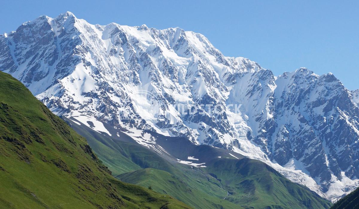 Schchara Mountain, Georgia, Europe Alexander Ludwig Schchara Mountain, the highest mountain of Georgia, Europe