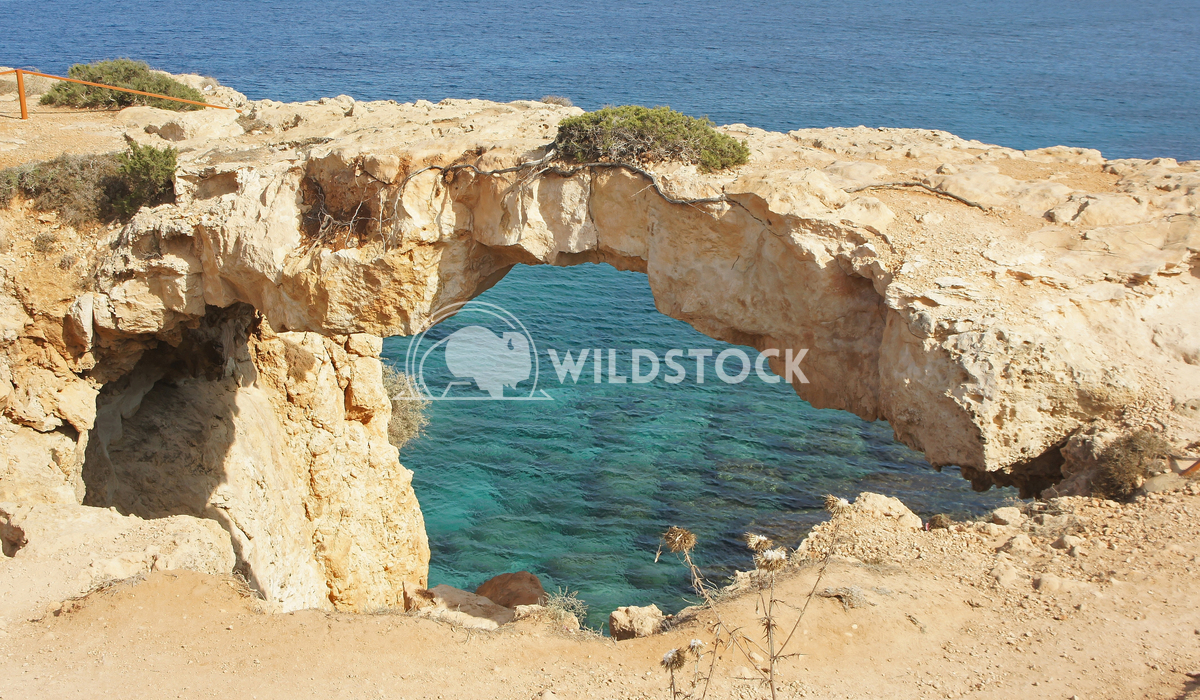 Cape Greko close to Ayia Napa in the south of the Cyprus island, Europe 1 Alexander Ludwig Natural bridge, Cape Greko cl