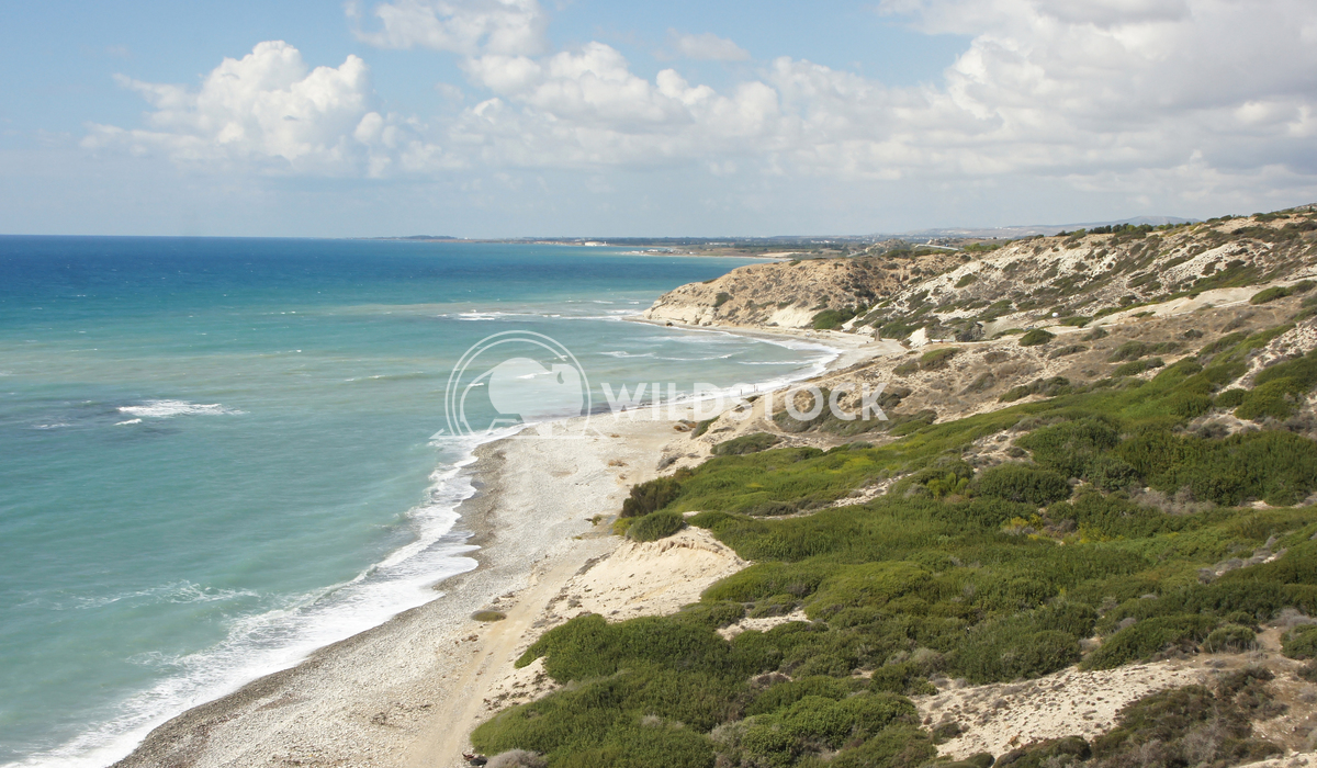 Southern coast of Cyprus, Europe 1 Alexander Ludwig Landscape in the south of the Cyprus island, Europe