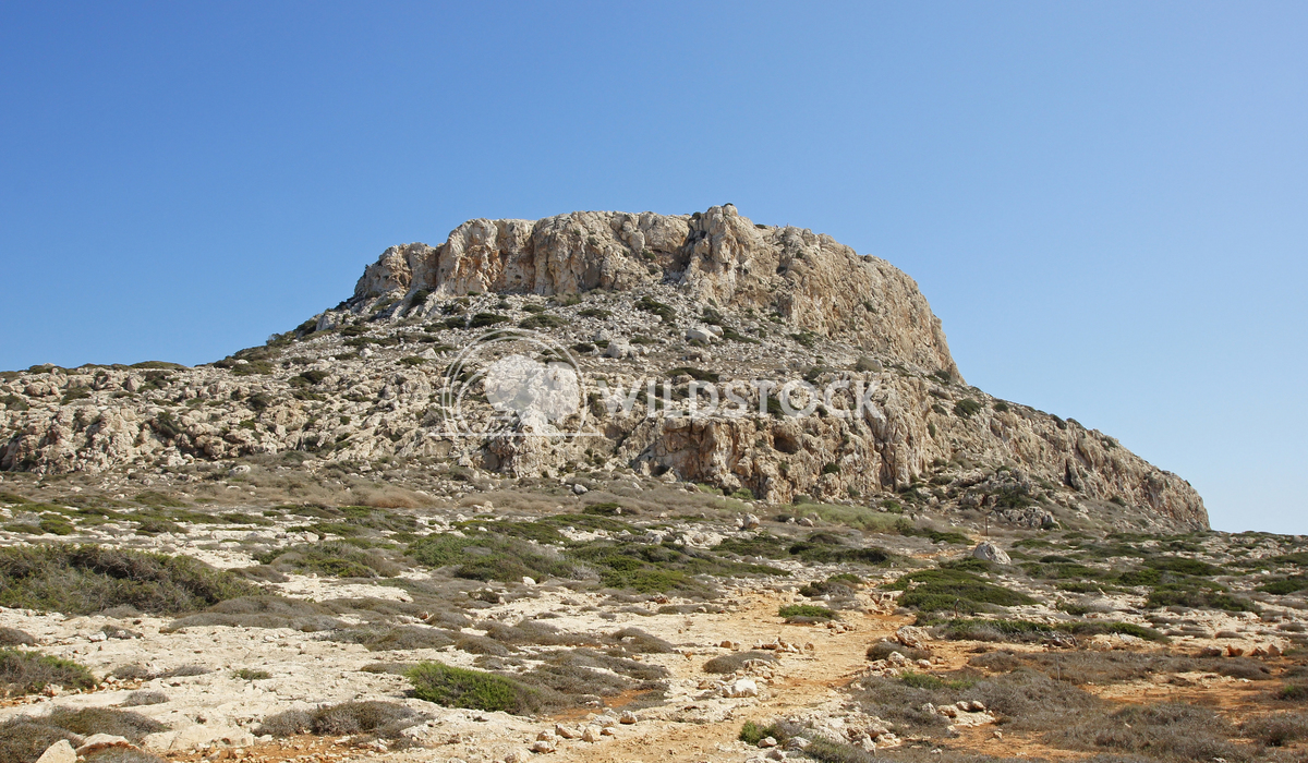 Southern coast of Cyprus, Europe 9 Alexander Ludwig Solitary table mountain, Cape Greko close to Ayia Napa in the south