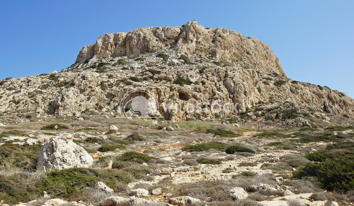 Southern coast of Cyprus, Europe 10 Alexander Ludwig Solitary table mountain, Cape Greko close to Ayia Napa in the south