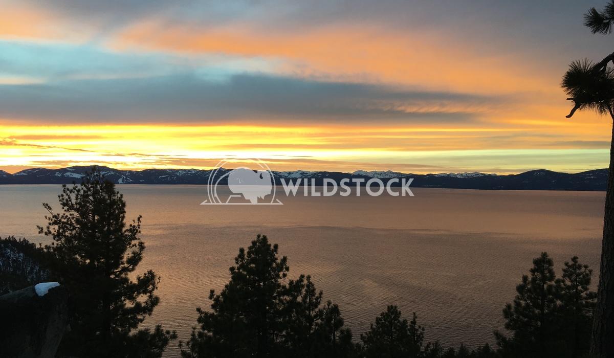 Lake Tahoe above Skunk harbor Kent LeFevre