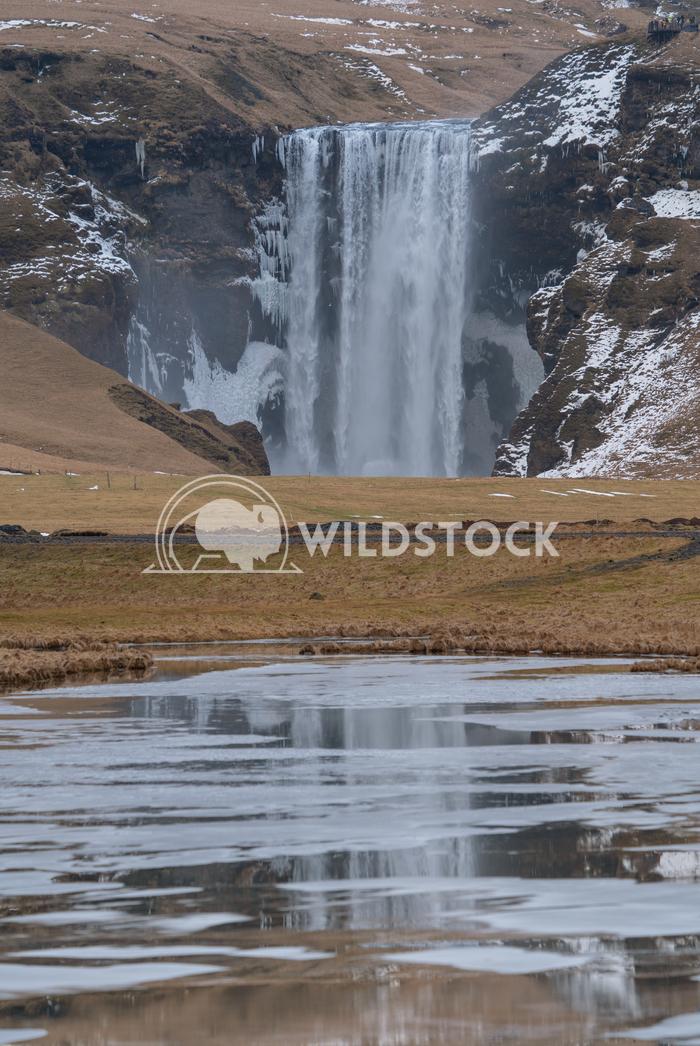 Skogafoss, Iceland, Europe 1 Alexander Ludwig Beautiful Skogafoss on a cold winter day, Iceland, Europe