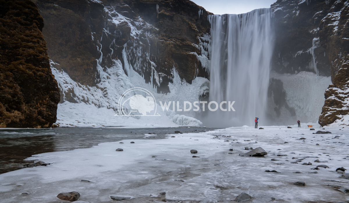 Skogafoss, Iceland, Europe 3 Alexander Ludwig Beautiful Skogafoss on a cold winter day, Iceland, Europe