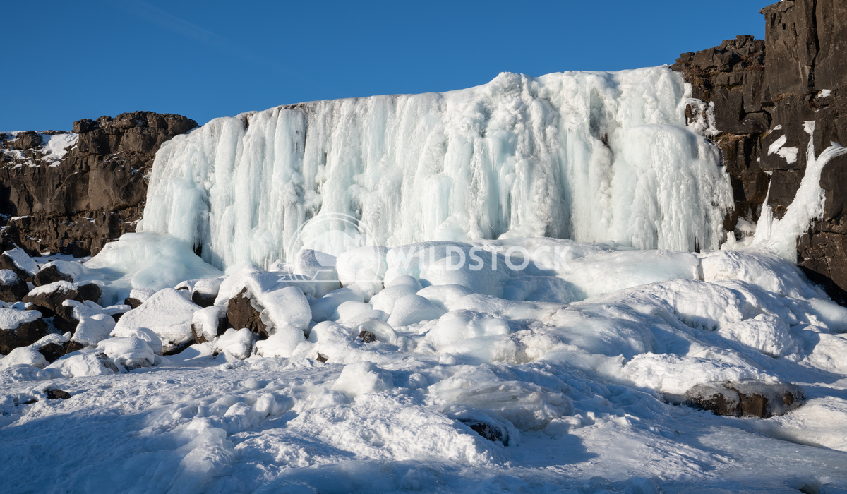 Oexararfoss, Thingvellir National Park, Iceland, Europe 3 Alexander Ludwig Frozen waterfall Oexararfoss within the Thing