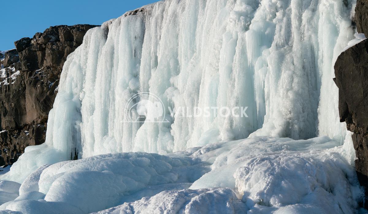 Oexararfoss, Thingvellir National Park, Iceland, Europe 4 Alexander Ludwig Frozen waterfall Oexararfoss within the Thing