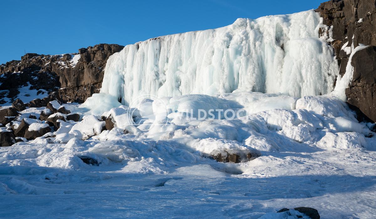 Oexararfoss, Thingvellir National Park, Iceland, Europe 2 Alexander Ludwig Frozen waterfall Oexararfoss within the Thing