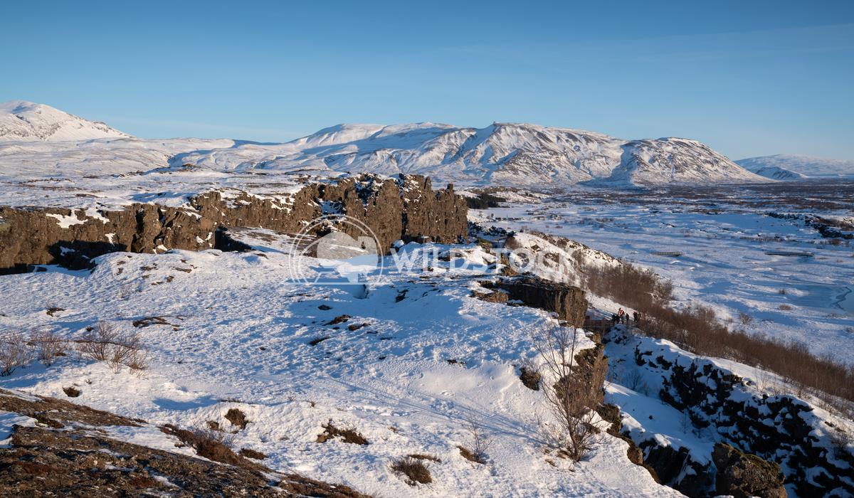 Thingvellir National Park, Iceland, Europe 1 Alexander Ludwig Panoramic image of the beautiful landscape of the Thingvel
