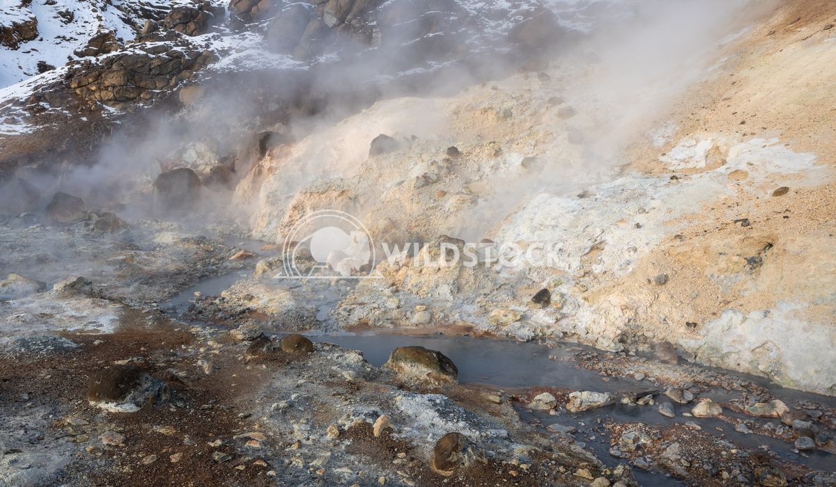 Seltun, Iceland, Europe 1 Alexander Ludwig Hot springs of Seltun, geological feature in Iceland, Europe