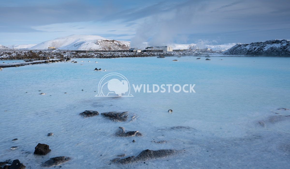 Blue Lagoon close to Grindavik, Iceland, Europe 1 Alexander Ludwig Panoramic view over the Blue Lagoon close to Grindavi