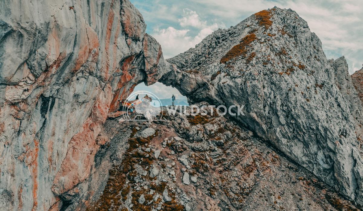Le Trou De La Mouche Drone Shot Scott Dunster A drone shot from 2453m high of the Trou De La Mouche in the French Alps n