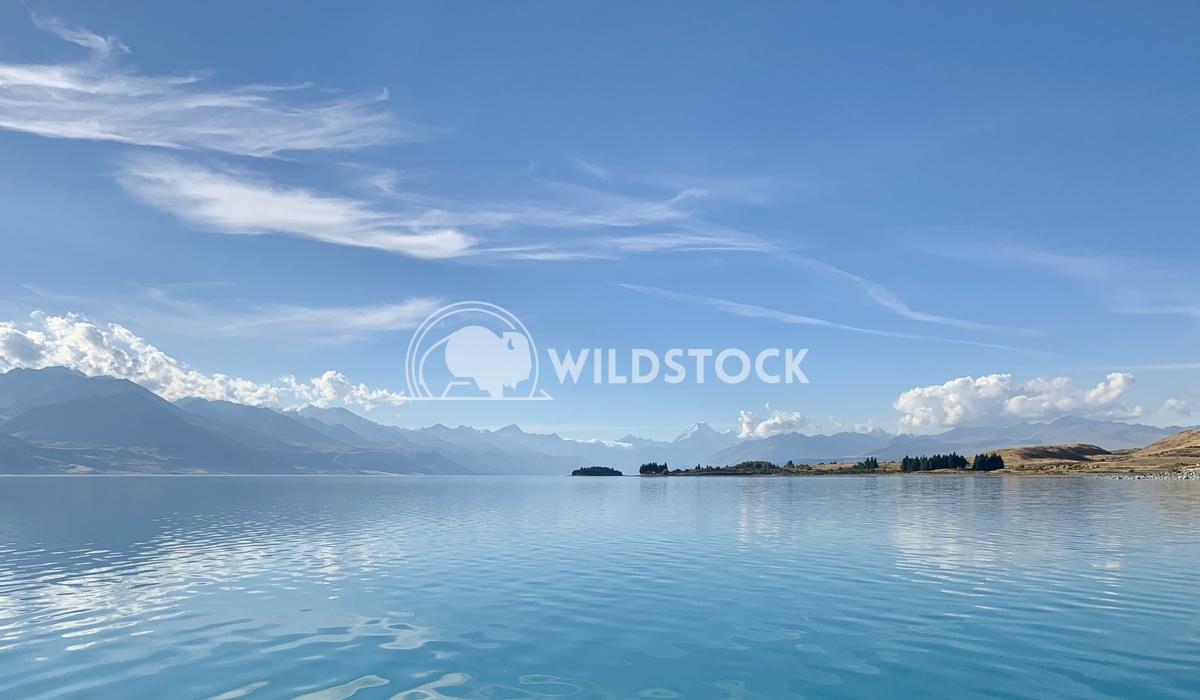 Lake Pukaki Mt Cook South Island New Zealand