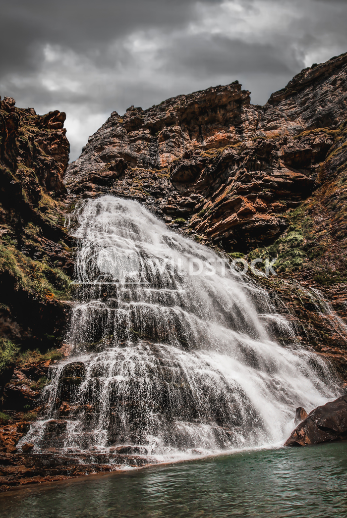 Waterfall in the Ordesa natural park. Jaime Navas
