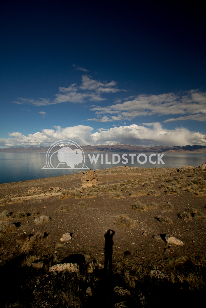 Pyramid Lake Tall Clouds Henry McCluster